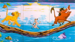 Lion Guard Wall Mural Mural Showing Scene From the Lion King Hakuna Matata What