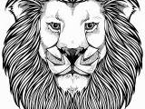 Lion Head Coloring Pages Lion Free Clipart 110