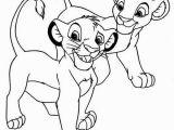 Lion King Coloring Pages Simba and Nala Awesome Simba and Nala Coloring Page Download & Print