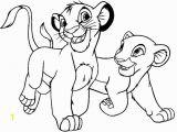 Lion King Coloring Pages Simba and Nala Simba and Nala Happy Both