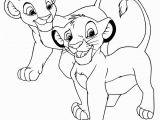 Lion King Coloring Pages Simba and Nala Simba and Nala2 the Lion King Coloring Page