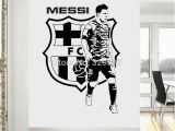 Lionel Messi Wall Mural Lionel Messi Room Barcelona Wall Sticker Wall Decal Free