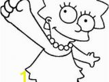 Lisa Simpson Coloring Pages 25 Gambar Simpsons Coloring Pages Terbaik