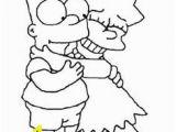 Lisa Simpson Coloring Pages 43 Best Simpson S Images