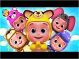 Little Baby Bum Coloring Pages Videos Matching Five Little Babies