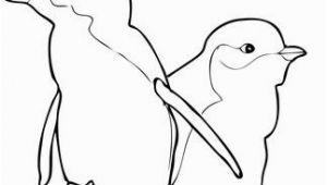 Little Blue Penguin Coloring Page Two Little Blue Penguins Coloring Page