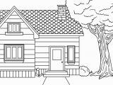 Little House On the Prairie Coloring Page House Free Clipart 189
