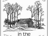 Little House On the Prairie Coloring Pages Little House In the Big Woods Unit Study