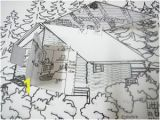 Little House On the Prairie Coloring Pages Our 3 Dimensional Model Of Little House In the Big Woods