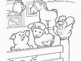 Little Live Pets Coloring Pages Coloring Page Little People Little People Farm