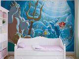 Little Mermaid Wall Mural Fototapeta Disney Malá Morská Vla Ariel