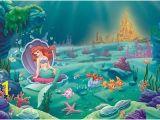 Little Mermaid Wall Mural Pinterest