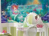 Little Mermaid Wall Mural Roommates Jl1224m the Little Mermaid Prepasted Chair Rail