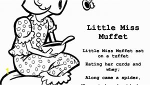 Little Miss Muffet Coloring Page Little Miss Coloring Page Coloring Little Miss Muffet Coloring Page