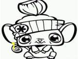 Littlest Pet Shop Coloring Pages Online Free Lps Cutie Mouse Painting