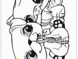 Littlest Pet Shop Coloring Pages Panda Animal Cuties Coloring Pages