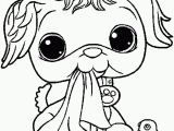 Littlest Pet Shop Coloring Pages to Color Online for Free Pet Coloring Pages Free Eskayalitim