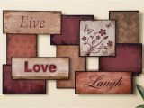 Live Laugh Love Wall Murals Details About 3pc Set Live Love Laugh Metal Word Hanging