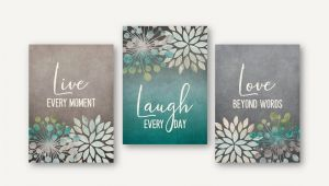 Live Laugh Love Wall Murals Live Laugh Love Wall Art Cottage Beach Farmhouse Floral