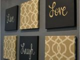 Live Laugh Love Wall Murals Live Laugh Love Wall Art Pack Of 6 Canvas Wall by