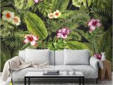 Living Room Wall Murals Uk Couture Jungle Flora Mural Graham & Brown Uk