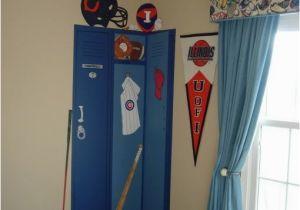 Locker Room Wall Murals Locker Mural Boys Room Ideas Pinterest