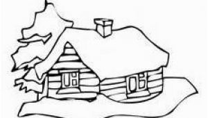 Log Cabin Coloring Page Log Cabins Coloring Pages
