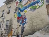 Logic Mural Deluca An Artist S touch In the Falls Opinion