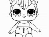 Lol Coloring Pages for Kids Free Lol Doll Coloring Sheets Kitty Queen