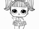 Lol Doll Coloring Pages Printable Coloring Pages Lol Dolls to Print and Colour Lol