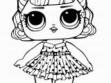 Lol Doll Coloring Pages Printable Lol Surprise Doll Coloring Page Jitterbug