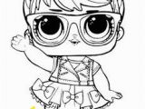 Lol Doll Coloring Pages Printable Unicorn Little Lids Siobhan Lol Doll Colouring Pages