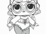 Lol Doll Coloring Pages Printable Unicorn Unicorn Surprise Doll Coloring Page Surprise Doll