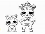 Lol Doll Little Sister Coloring Pages Lol De Colorat Lol Si Lil Sister Download Gratuit
