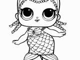 Lol Surprise Doll Coloring Page Print Mermaid Lol Surprise Doll Merbaby Coloring Pages