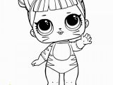 Lol Surprise Doll Coloring Page Treasure From Lol Surprise Doll Coloring Pages Free
