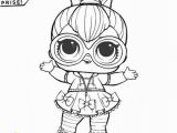 Lol Surprise Doll Coloring Pages Printable Lol Surprise Coloring Pages Neon Qt