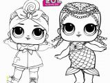 Lol Surprise Doll Coloring Pages Printable Sweet and Cute Lol Surprise Coloring Pages for Doll