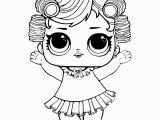 Lol Surprise Dolls Free Printable Coloring Pages Babydoll From Lol Surprise Doll Coloring Pages Series 3