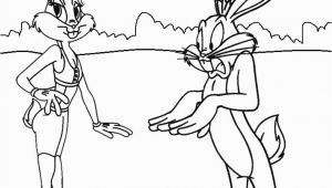 Lola and Bugs Bunny Coloring Pages Printable Bugs Bunny Coloring Pages for Kids