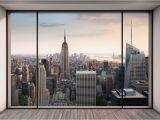 """London City Wall Murals Penthouse"""" New York City Skyline Wallpaper Wall Mural Made"""