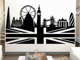 London City Wall Murals Wall Decals London Skyline Walltat Art without