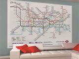 London Map Wall Mural 41 ] London Underground Wallpaper On Wallpapersafari