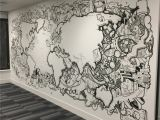 London Map Wall Mural Nexus Mural City Of London