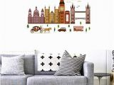 London Skyline Wall Mural Amazon Bibitime I Love London Quotes Decals Church Big