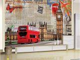 London themed Wall Murals Amazon Murals Custom 4d Wallpaper Building Series Big