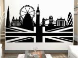 London themed Wall Murals London Skyline Wall Decals