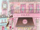 London themed Wall Murals Pink London Personalized Wall Art for Girls Travel themed