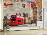 London Wall Mural Wallpaper Amazon Murals Custom 4d Wallpaper Building Series Big
