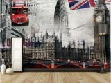 London Wall Mural Wallpaper Great Wall 3d Large Murals Of European Style Of Ancient